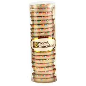 Sprinkles White Chocolate Regular size 27/cylinder