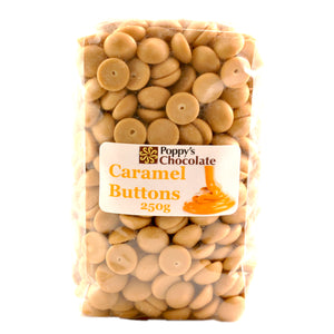 Chocolate Buttons Caramel Couverture chocolate - Gluten Free 1kg, 250g, 500g
