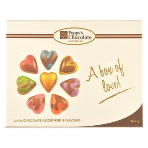 A Box of Love Dark Chocolate