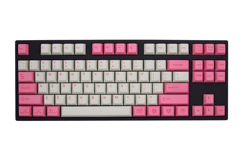 Originative - PBT Valentine - A (pink mods) - KEYSETS - Originative - 1