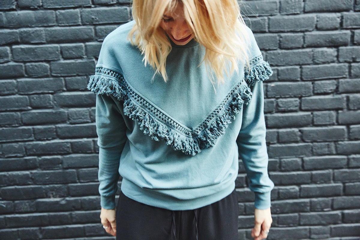 Selected Femme Tassel Sweatshirt Style Edit