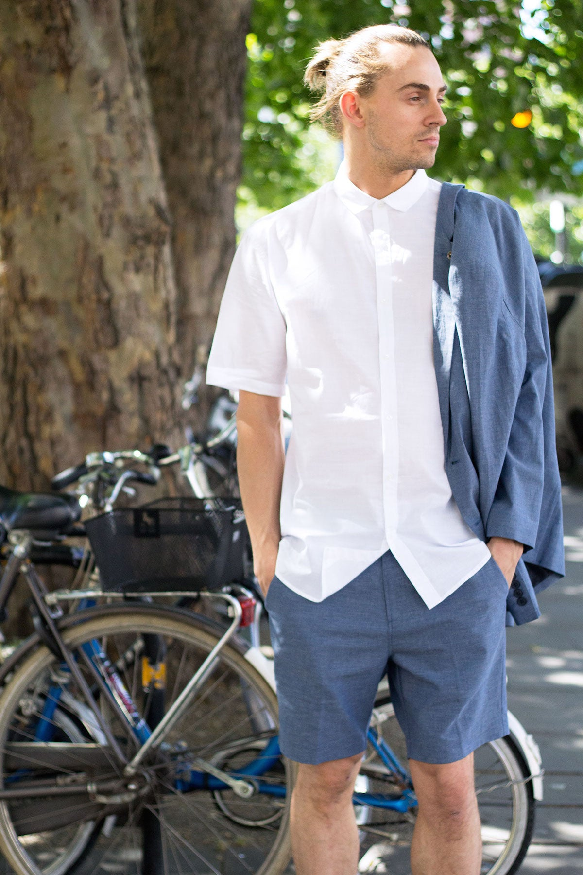 Street Style Men Summer Shirt and Shorts