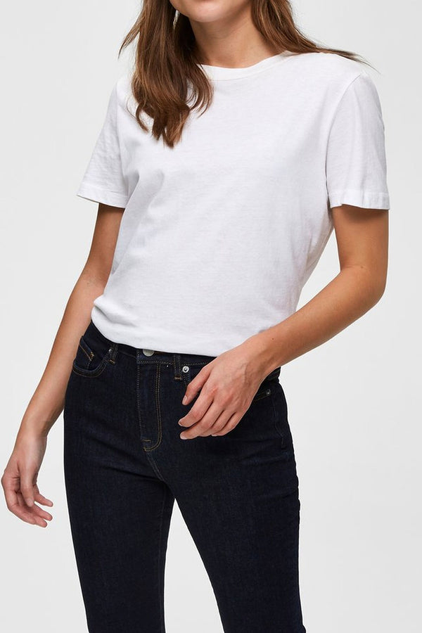 SELECTED FEMME WHITE MY PERFECT TEE