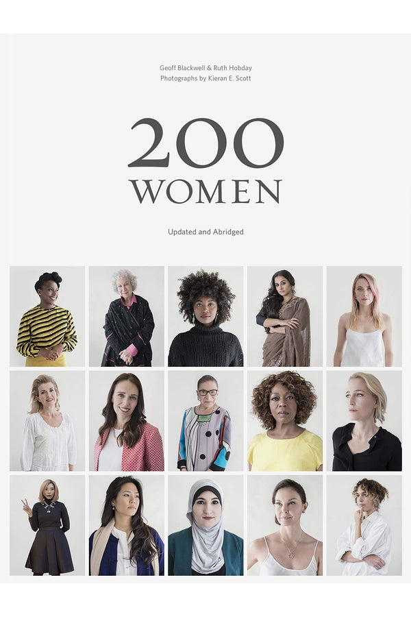 BOOKSPEED '200 WOMEN' BY GEOFF BLACKWELL AND RUTH HOBDAY