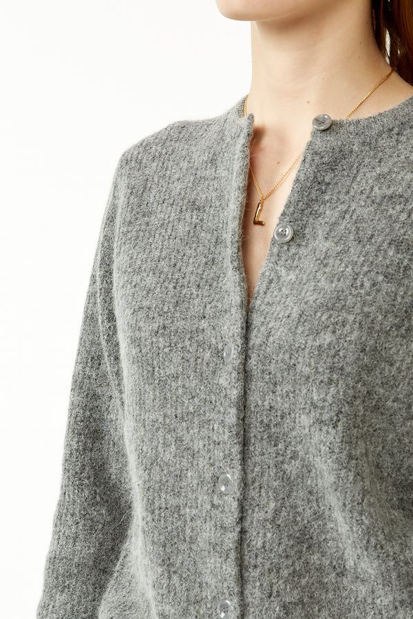 Dark Grey Eta Cardigan