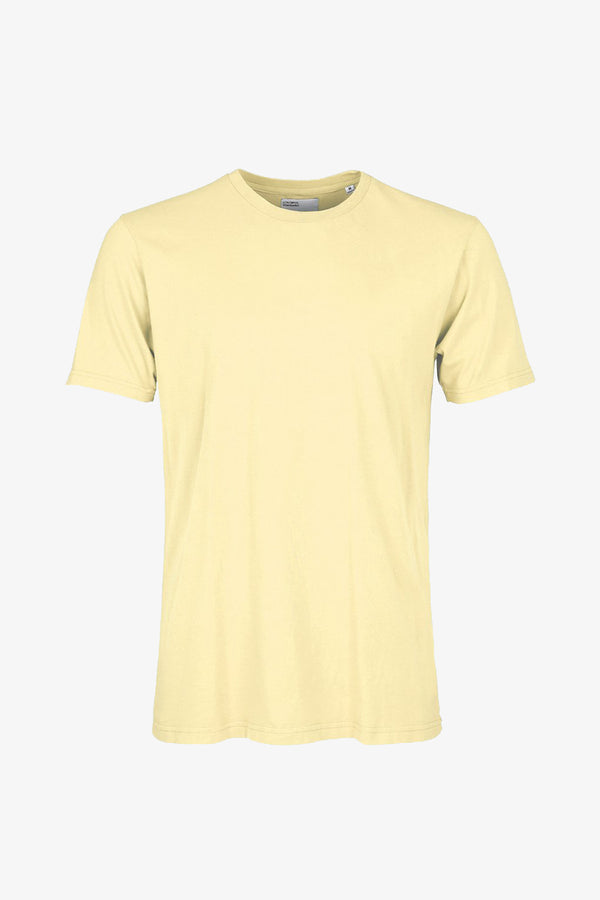 COLORFUL STANDARD SOFT YELLOW WOMENS ORGANIC TEE