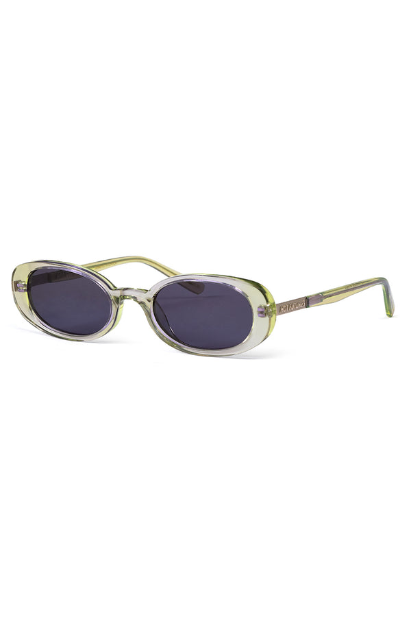 Hot Futures Good Vibrations Smoke Lens Sunglasses