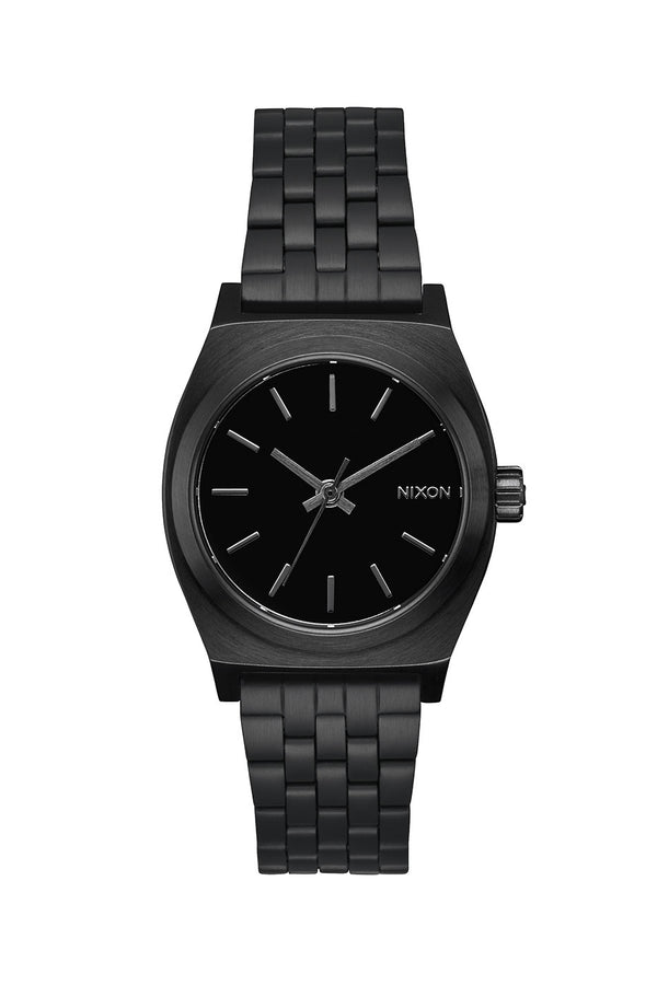 Nixon All Black Medium Time Teller Watch