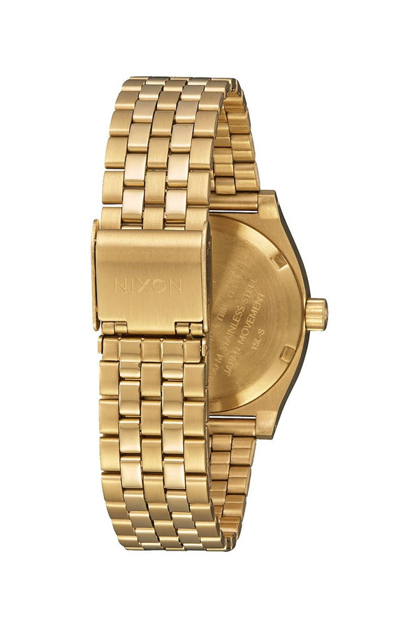 Nixon Light Gold/Black Sunray Medium Time Teller Watch