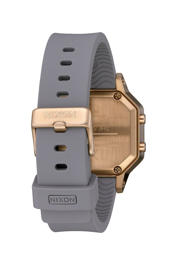 Nixon Light Gold/Gray Siren SS Watch