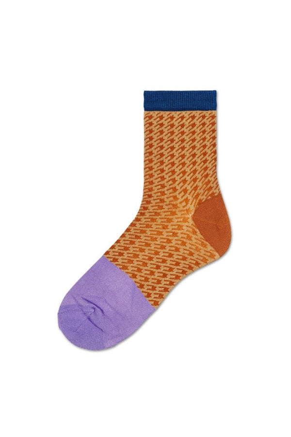 Hysteria Brown Jill Ankle Socks