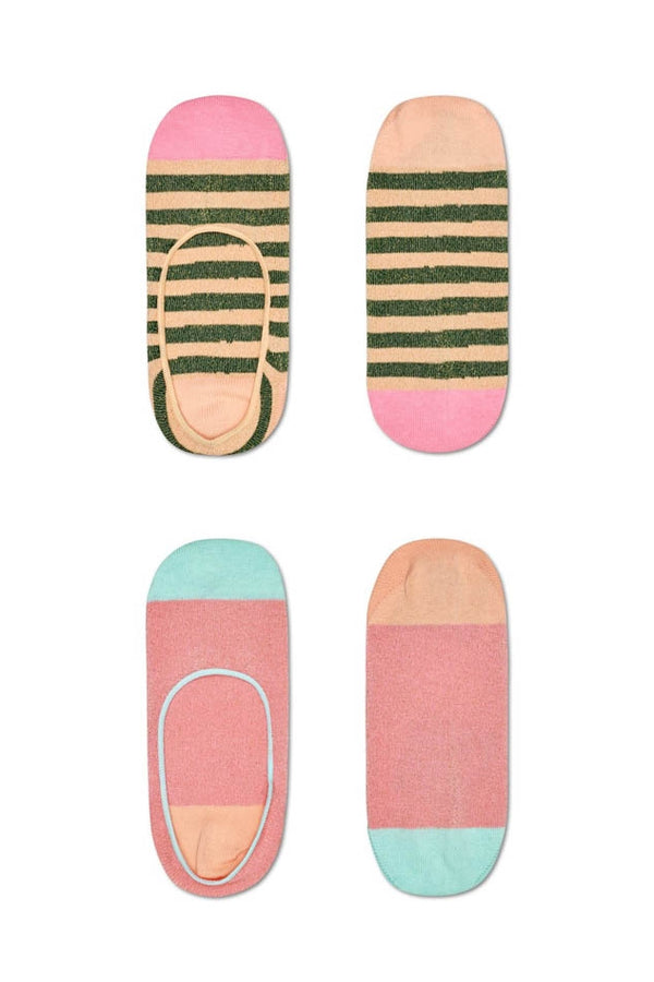 Hysteria Pink Claudia Invisible Socks (2-pack)