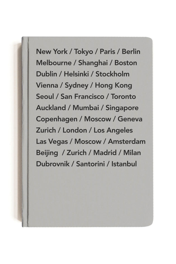 Moxon Bucket List Cities Notebook