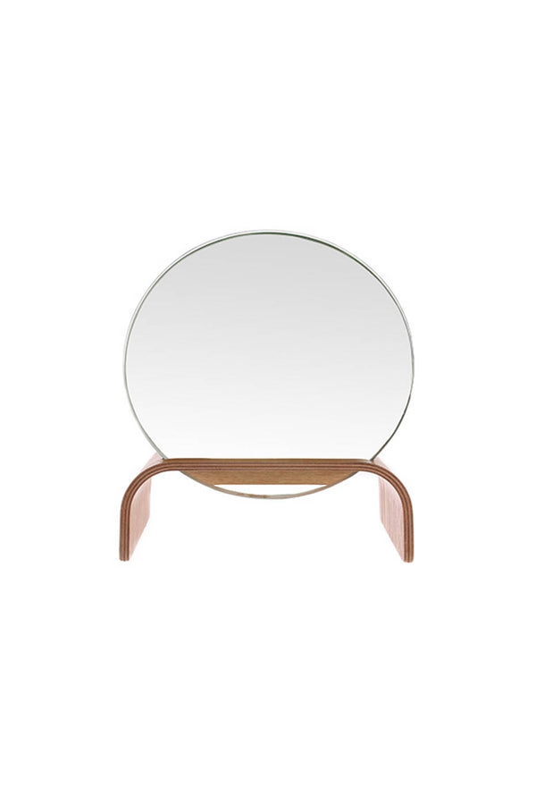 HK Living Willow Wooden Mirror Stand
