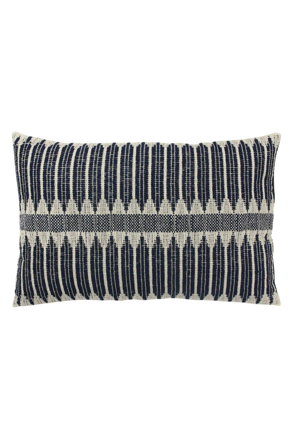 HK Living Black/White Aztec Weave Cushion (40x60)