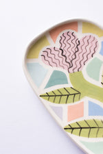Laura Bird Lilac Mini Plate