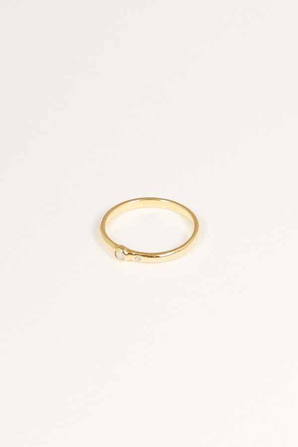 ALIZA FIRE GOLD PLATED AIVA RING