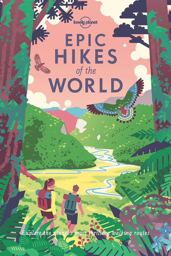 BOOKSPEED 'EPIC HIKES OF THE WORLD' BY LONELY PLANET