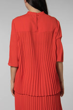 Mads Norgaard Red Shelly Blouse