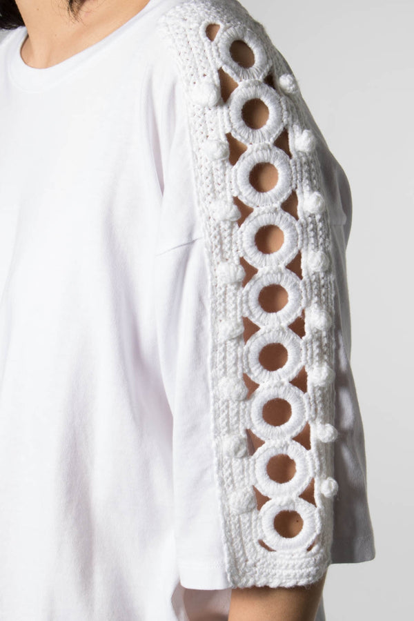 LEVIS MADE & CRAFTED BOXY CROCHET TOP