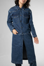 LEVIS MADE & CRAFTED WESTERN TRENCHCOAT
