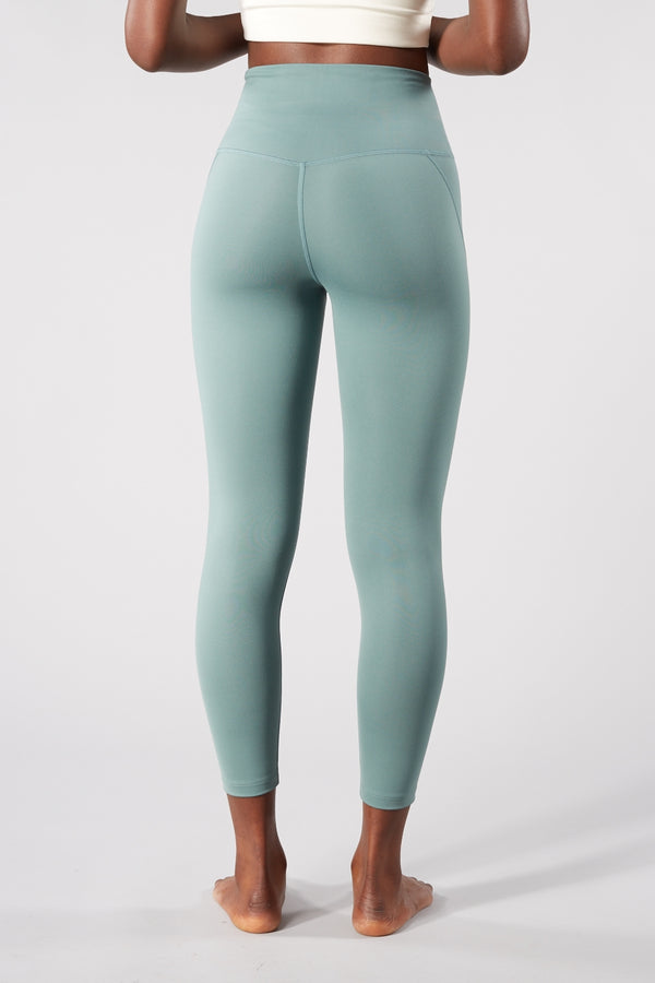 Girlfriend Collective Jade Compressive High Rise Leggings (7/8 Length)