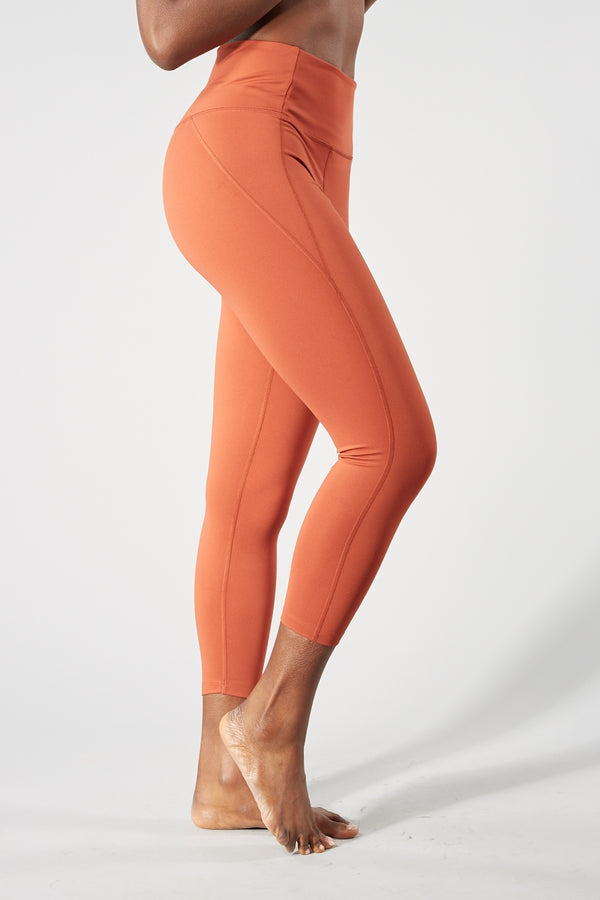 GIRLFRIEND COLLECTIVE SEDONNA COMPRESSIVE HIGH RISE LEGGINGS (7/8 LENGTH)