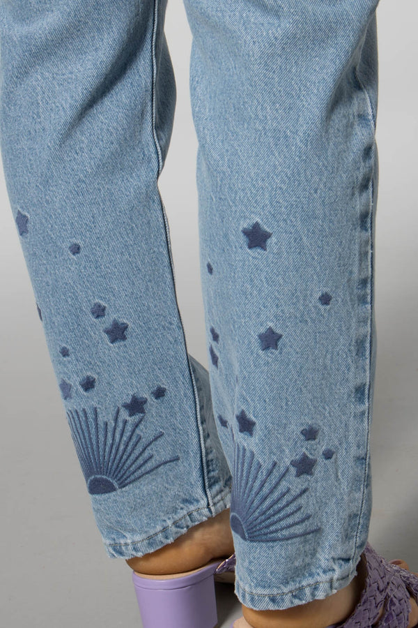 Levis Made and Crafted Early Morning 501 Crop Jeans