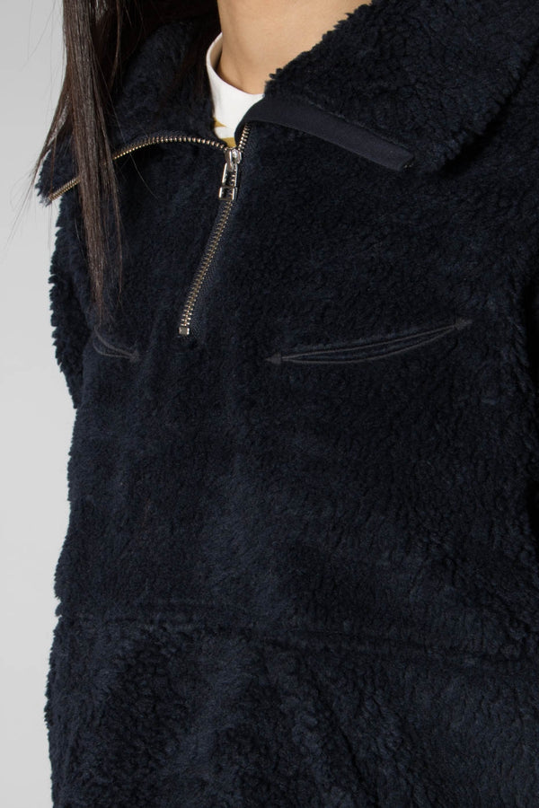 Levis Made and Crafted Popover Sherpa Truck Jumper