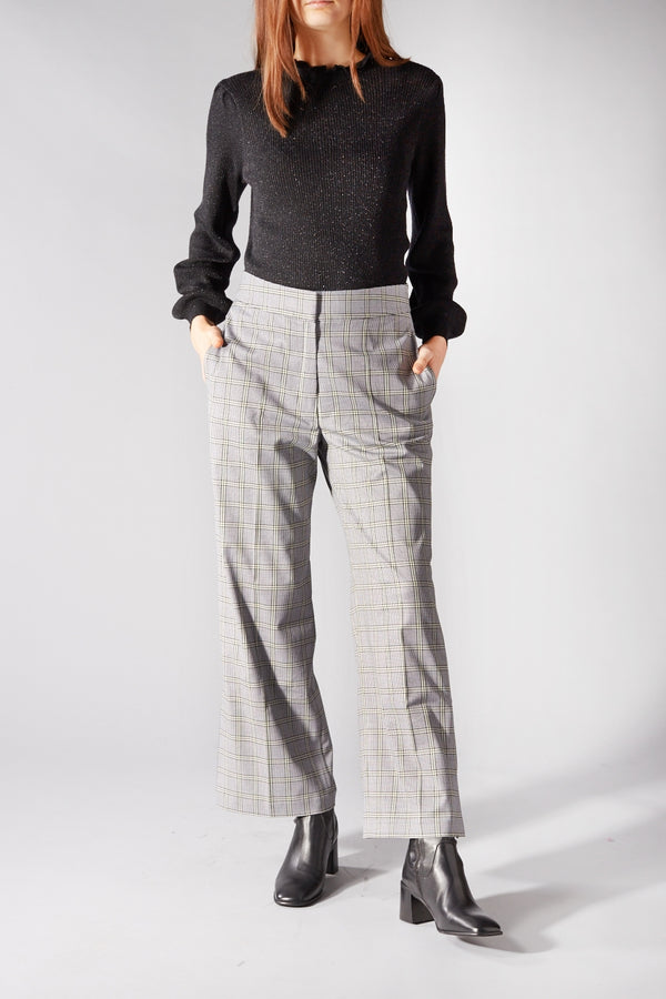 LIBERTINE LIBERTINE CHECKED SOUL TROUSERS