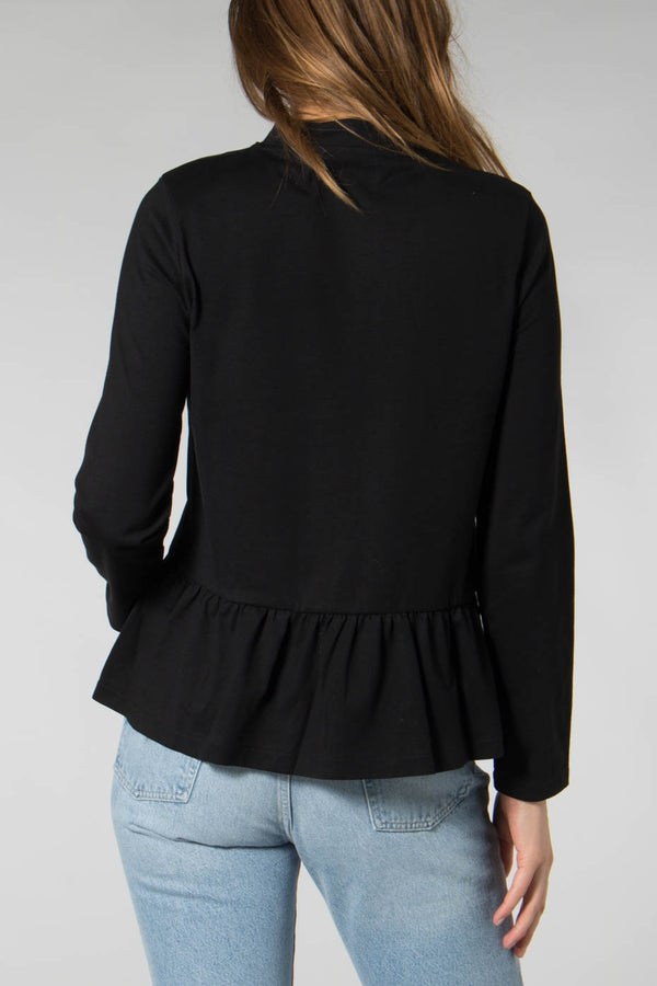 Libertine-Libertine Black Wake Blouse