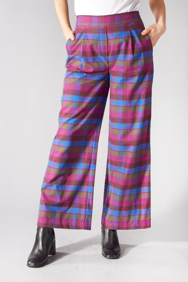LIBERTINE LIBERTINE PURPLE TRAVEL TROUSERS