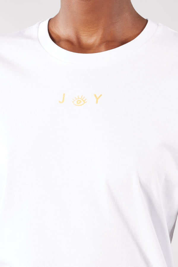 ORIGIN WHITE JOY TEE
