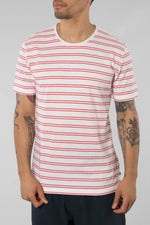 The GoodPeople Pink/White Homme T-Shirt