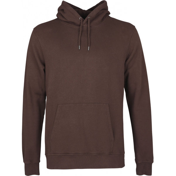 COLORFUL STANDARD COFFEE BROWN ORGANIC UNISEX HOODIE