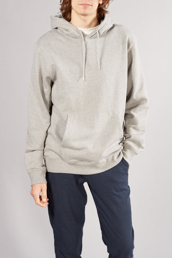 Colorful Standard Heather Grey Classic Organic Hoodie