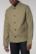 Samsoe Samsoe Lichen Green Worker Jacket 10932