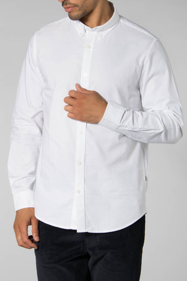 Mads Norgaard White Oxford Shirt