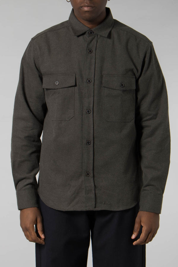 Outland Olive Roadrunner Shirt