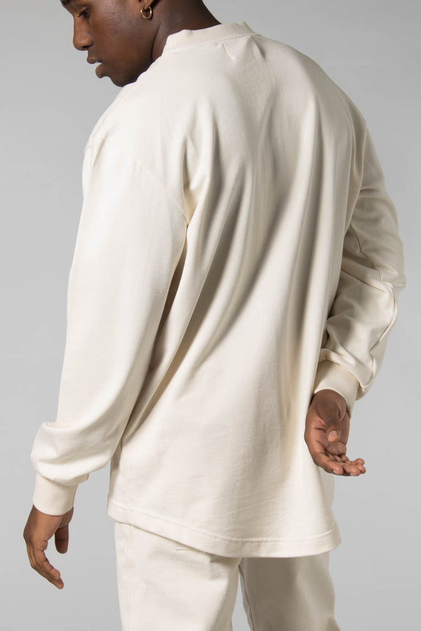 Outland Off White Home Long Sleeved T-Shirt