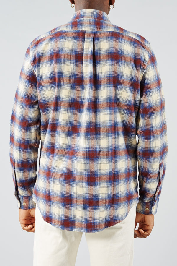 PORTUGUESE FLANNEL MULTI GRID BAIO SHIRT