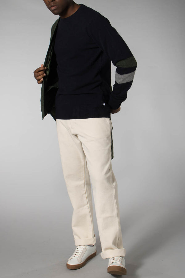 THE GOOD PEOPLE NAVY KURTIS KNIT