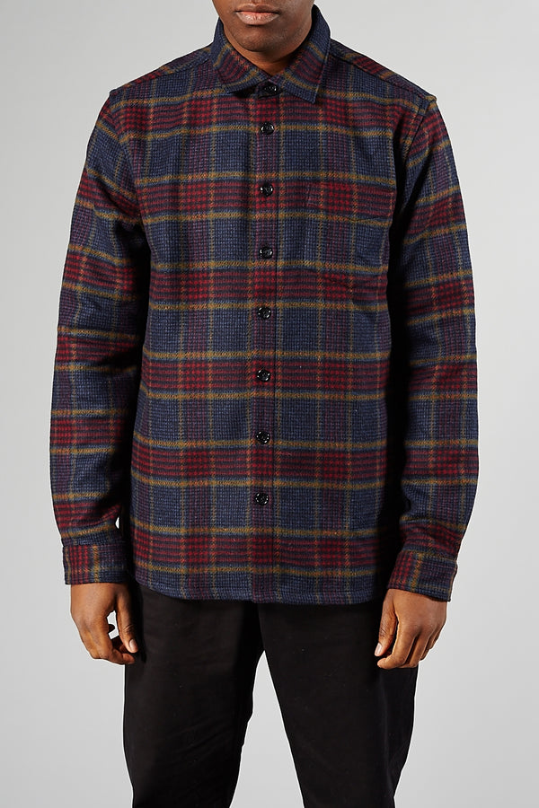 LIBERTINE-LIBERTINE MULTI GRID MIRACLE SHIRT