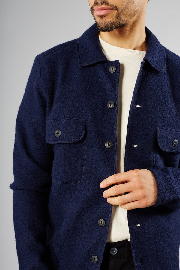 SELECTED HOMME NAVY NEAL WORKWEAR JACKET