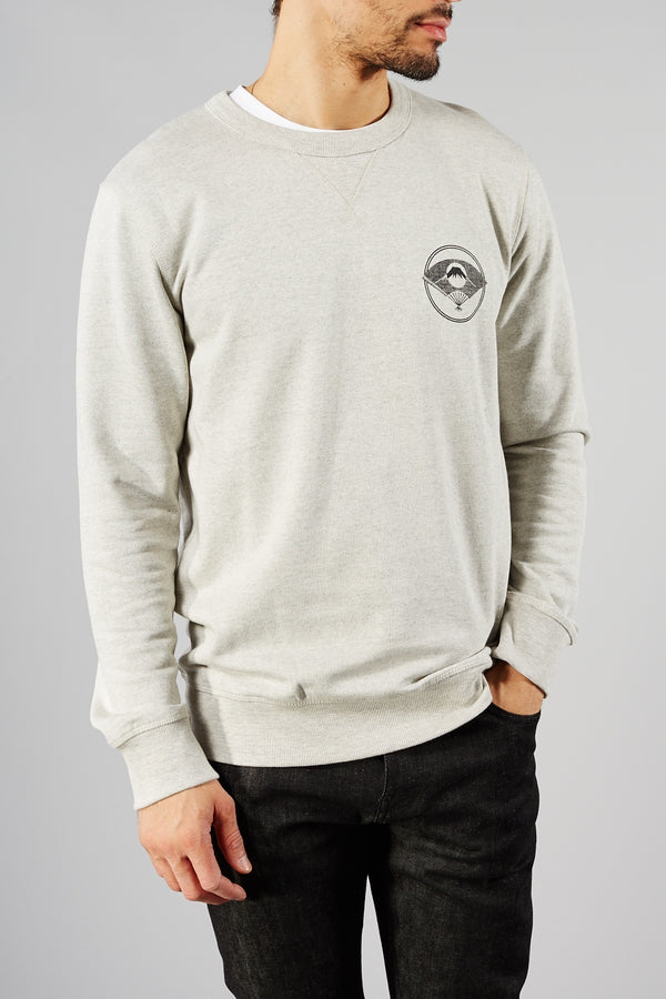Grey Anders Crew Neck Sweater