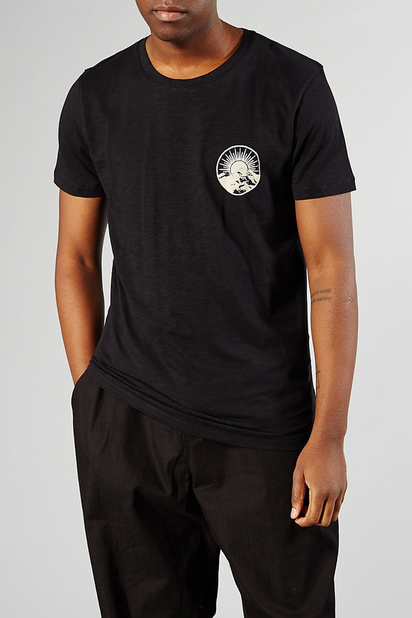 SELECTED HOMME BLACK ANDRES TEE
