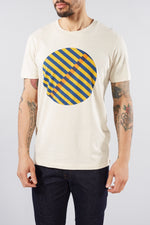 SELECTED HOMME BONE WHITE JARED GRAPHIC TEE
