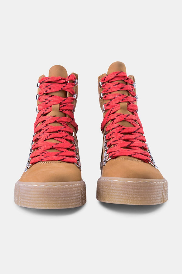 Shoe The Bear Tan Agda N Bootie Lace Up Boots
