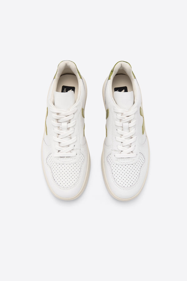 VEJA V-10 LEATHER EXTRA-WHITE PAGI TRAINER