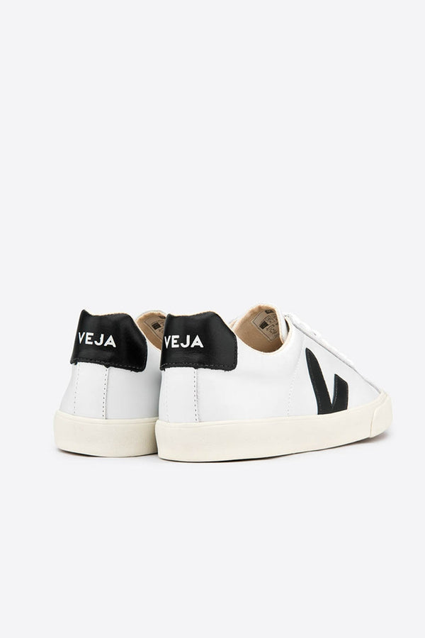Extra White Black Esplar Leather Trainer Mens